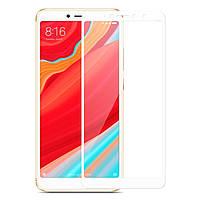 Защитное стекло Florence для Xiaomi Redmi 6A, Redmi 6 Full Cover White (full glue)