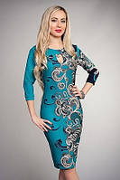 Шикарное платье стильного кроя Загадка
