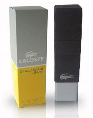 LaCoste Challenge Homme Silver, 100 ml Originalsize мужская туалетная вода тестер духи аромат