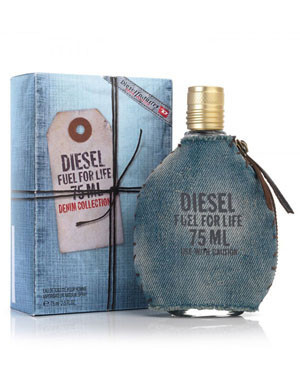 Diesel Fuel For Life Denim Collection, 75 ml Originalsize мужская туалетная вода тестер духи аромат