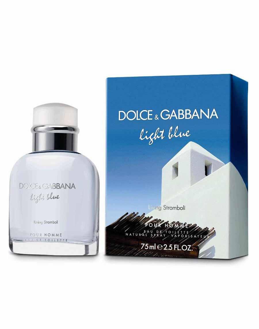 D&G Light Blue Living Stromboli Originalsize мужская туалетная вода тестер духи аромат