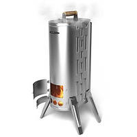 Портативная дровяная печь-коптильня Термофор Дуплет