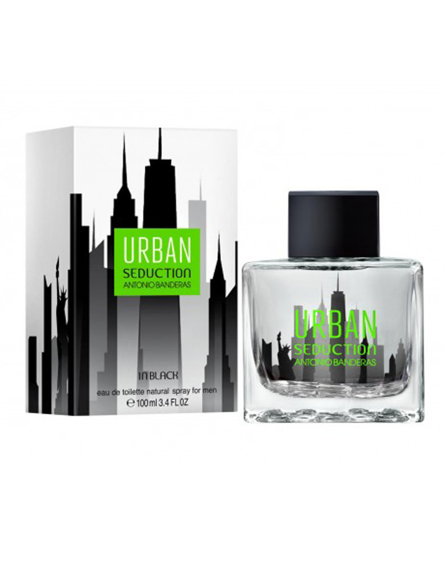 Antonio Banderas Urban Seduction in Black, 100 ml Originalsize мужская туалетная вода тестер духи аромат