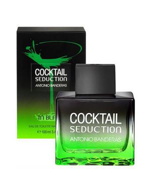 Antonio Banderas Cocktail in Black Seduction, 100 ml Originalsize мужская туалетная вода тестер духи аромат