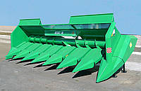 Жатка для уборки подсолнуха ПЗС-8-18 для комбайна «КЗС-812» «ПАЛЕССЕ GS12»