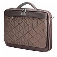Коричневая сумка для ноутбука до 15.6 дюймов  Sumdex арт. PON-321BR