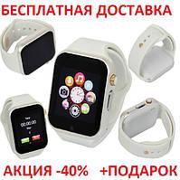 Умные часы смарт A1 Smart Watch GT08 Smartwatch точная копия Apple Watch  GSM Camera 3c77cdafe212d