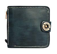 Кошелек, бумажник, портмоне мужской Gato Negro Jeans Blue ручной работы