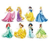 Бумага для декупажа 21х30 см Принцессы Disney