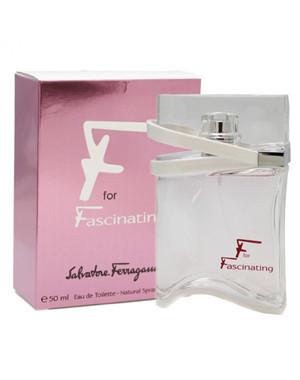 Salvatore Ferragamo Fascinating, 50 ml Original size женская туалетная парфюмированная вода тестер духи аромат