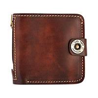 Кошелек, бумажник, портмоне мужской Gato Negro Jeans Brown ручной работы