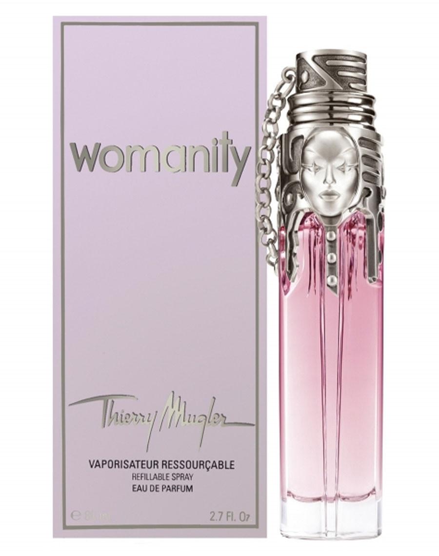 Thierry Mugler Womanity, 80 ml Original size женская туалетная парфюмированная вода тестер духи аромат