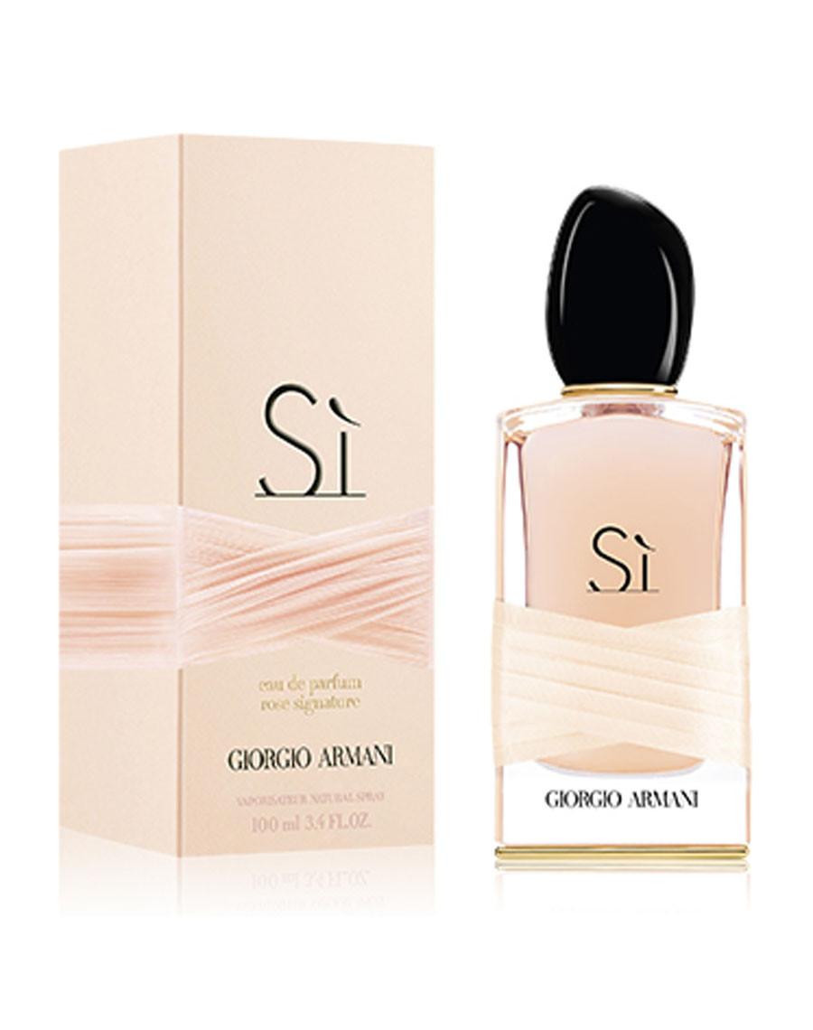 Armani Si Rose Signature, 100 ml Original size женская туалетная парфюмированная вода тестер духи аромат