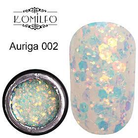 Komilfo Star Gel №002 Auriga, 5 мл