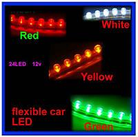 Светодиодная лента 24LED 24см 12V красная 2шт , фото 1