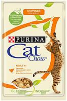 595049 Cat Chow Adult курица и кабачки в желе, 24 шт