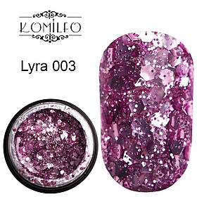 Komilfo Star Gel №003 Lyra, 5 мл