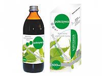 Сок из крапивы натуральный без сахара и консервантов 0,5 л