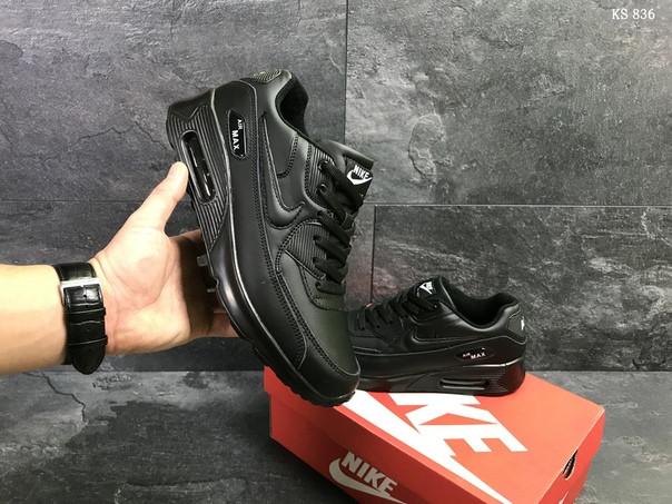 Мужские кроссовки Nike Air Max (черные)