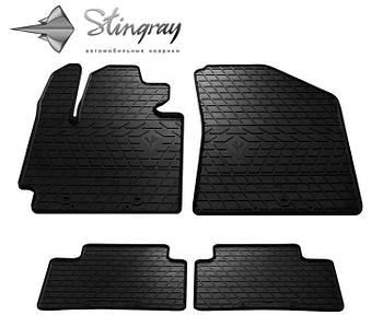 Автомобильные коврики Kia Soul 2013-  Комплект (Stingray)