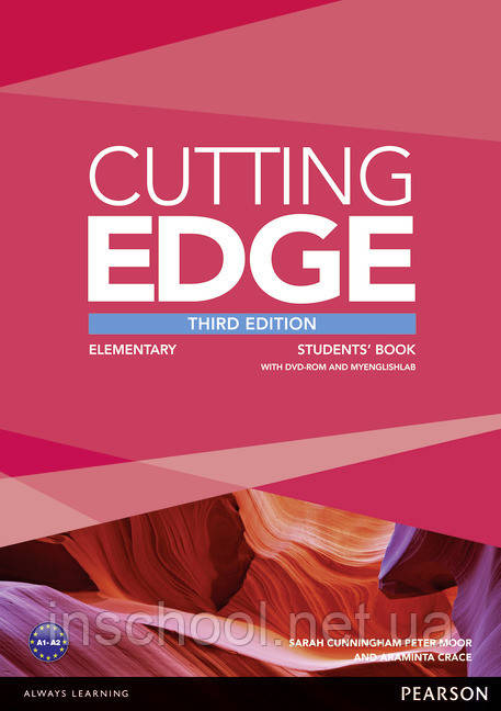 Cutting Edge 3rd Edition Elementary Students' Book (with DVD) ISBN: 9781447936831