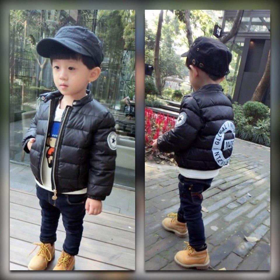 Куртка детская демисезонная на мальчика  весна-осень  черная 130 размер