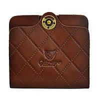 Кошелек, бумажник, портмоне мужской Gato Negro Simple-X Brown ручной работы