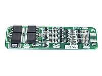 BMS Контроллер (плата защиты) 3S Li-Ion 18650 12.6V 20A