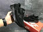 Мужские кроссовки Nike Air Max (черные), фото 3