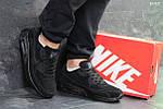 Мужские кроссовки Nike Air Max (черные), фото 4