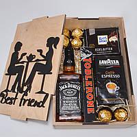 Подарочный набор для подруги, девушки, мамы, женщины. Оригинальный подарок. В деревянной подарочной коробке.