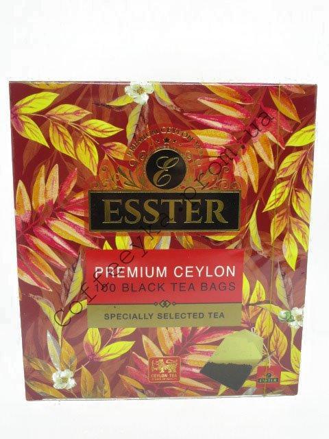 Чай Чёрный ESSTER в пакетиках 100 шт.