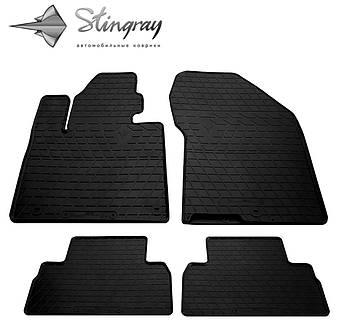 Автомобильные коврики Hyundai Santa Fe 2018- Комплект (Stingray)