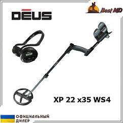 Металлоискатель XP Deus 22 x35 WS4