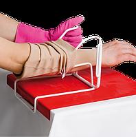 Перчатки для надевания медицинского компрессионного трикотажа