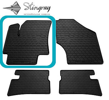 Автомобильные коврики Hyundai Accent 2006-2010 / Kia Rio II 2005-2011 Комплект (Stingray)
