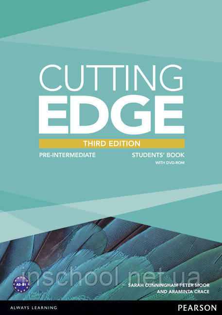 Cutting Edge 3rd Edition Pre-intermediate Students' Book (with DVD) ISBN: 9781447936909