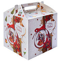 "Коробка подарочная картонная ""Merry Christmas"" 28*28*26см R87117"