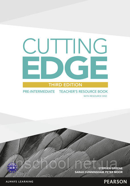 Cutting Edge 3rd Edition Pre-intermediate Teacher's Resource Book (with Resources CD-ROM) ISBN: 9781447936930