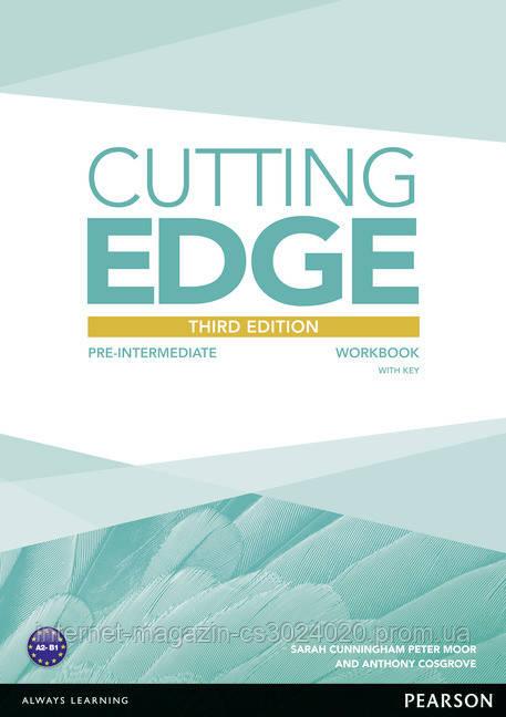 Cutting Edge 3rd Edition Pre-intermediate Workbook (with Key) ISBN: 9781447906636