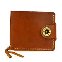 Кошелек, бумажник, портмоне мужской Gato Negro Four Orange ручной работы