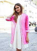 Женский Жакет M, розовый