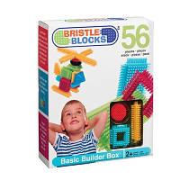 Конструктор-бристл Bristle Blocks Строитель 56 деталей (3070Z)