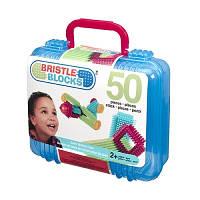 Конструктор-бристл Bristle Blocks Строитель 50 деталей (3081MTZ)