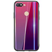 TPU+Glass чехол Gradient Aurora для Xiaomi Redmi 6