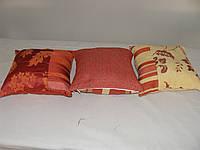 Комплект подушек  красн, 3шт, фото 1
