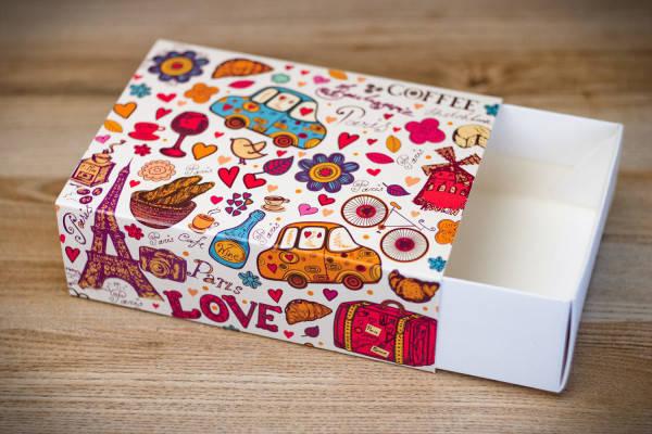 Коробка для 115*155*50 для 12 макаронс Париж (Упаковка 3 шт.), фото 2