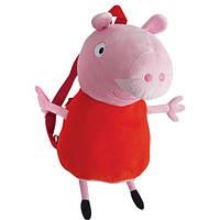 Мягкая игрушка Peppa Pig Рюкзак детский Пеппа (25103)