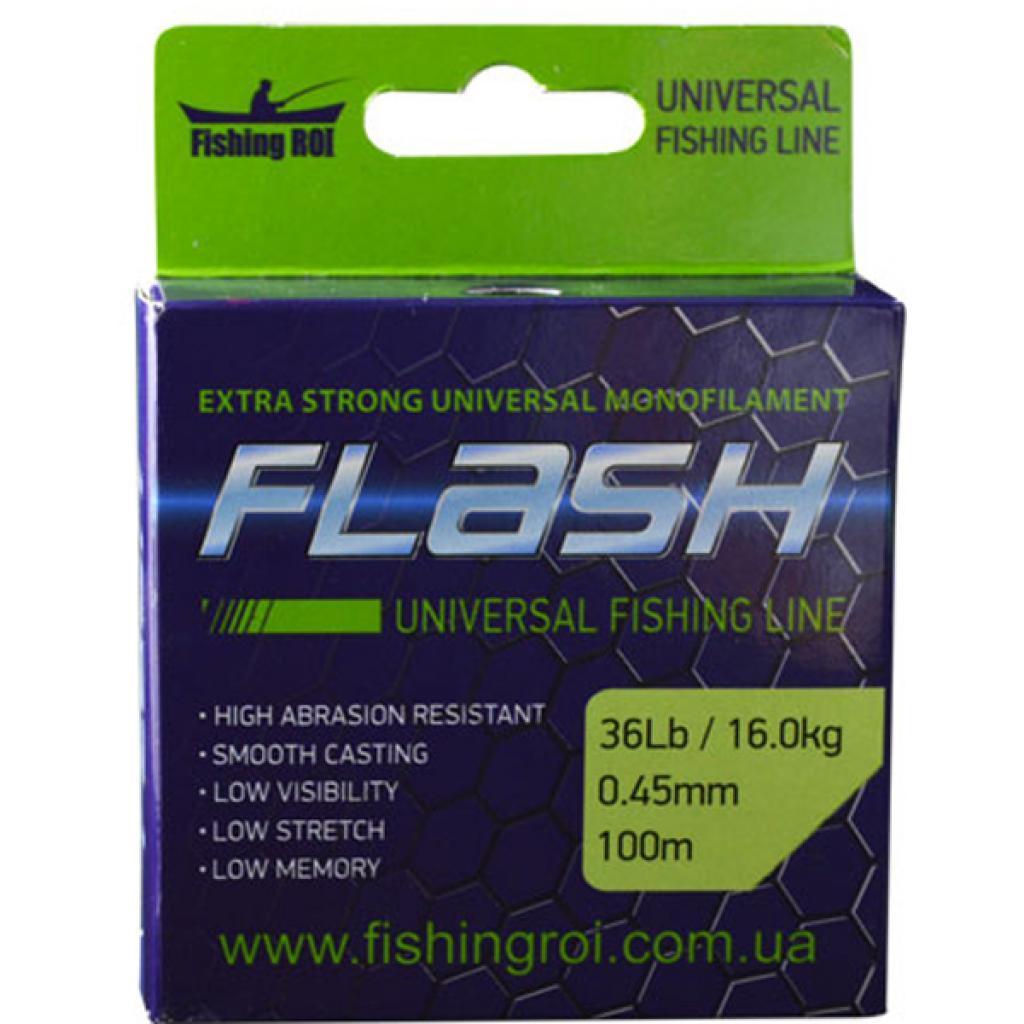 Леска Fishing ROI FLASH Universal Line 100м 0,22мм 4.9кг (47-00-022)