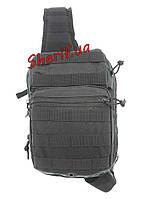 Рюкзак через плечо Assault Black 8 литров, 14059102